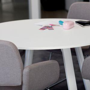 Mesa de reuniones redonda serie EXTREM