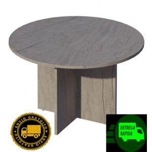 Mesa de juntas redonda base aspa COR