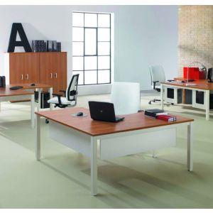 Mesa oficina compacta 90º serie TEMPO