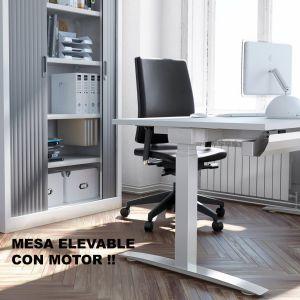 Mesa oficina elevable PUSH16